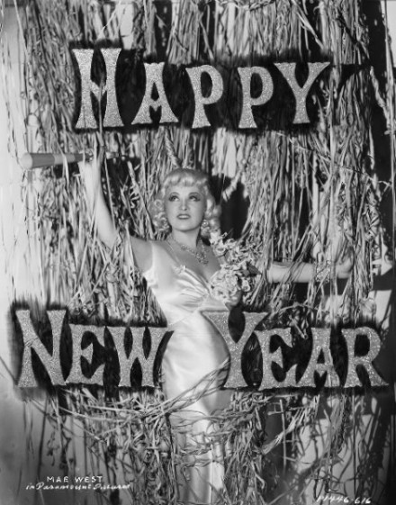 Mae West Happy New Year