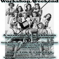 WomensWorkshopWeekendFlyerSpring2016