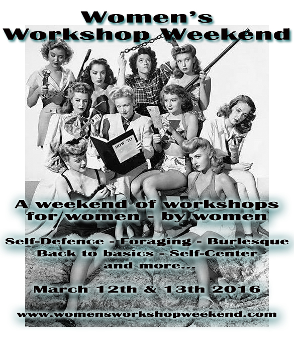 Back by popular demand! The Women's Workshop Weekend – Spring 2016