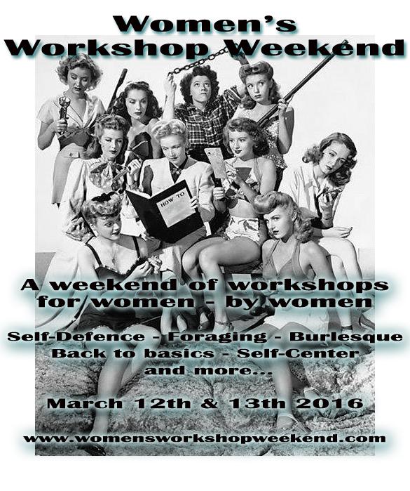 Back by popular demand! The Women's Workshop Weekend – Spring 2016
