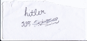 Hitler's Phone number