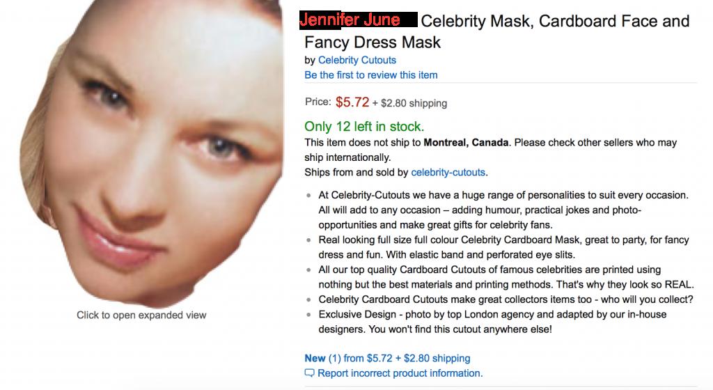 celebritymask