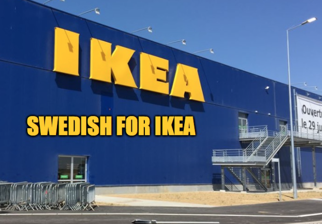 Shame on you IKEA!